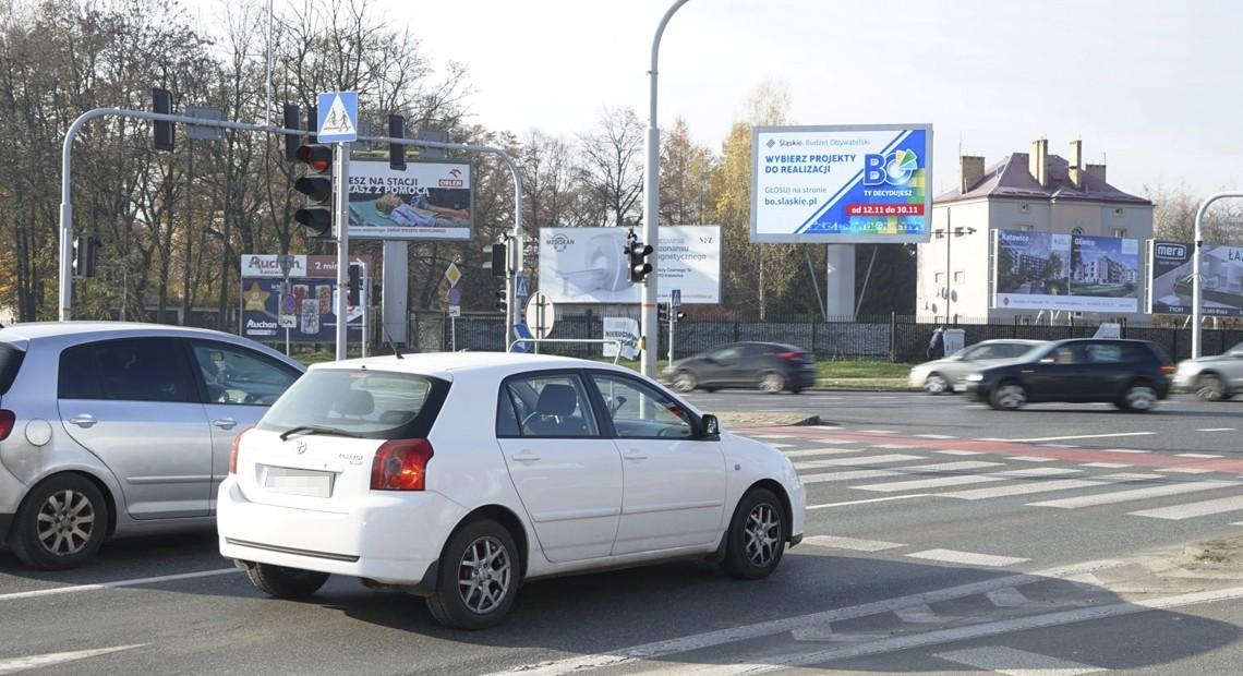 Telebim reklamujący Marszałkowski Budżet Obywatelski