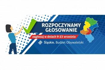 Głosowanie w II edycji Marszałkowskiego Budżetu Obywatelskiego.  graf. mat. organizatora