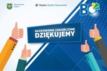 Dziękujemy wszystkim, którzy głosowali w II edycji Marszałkowskiego Budżetu Obywatelskiego. graf. UMWS